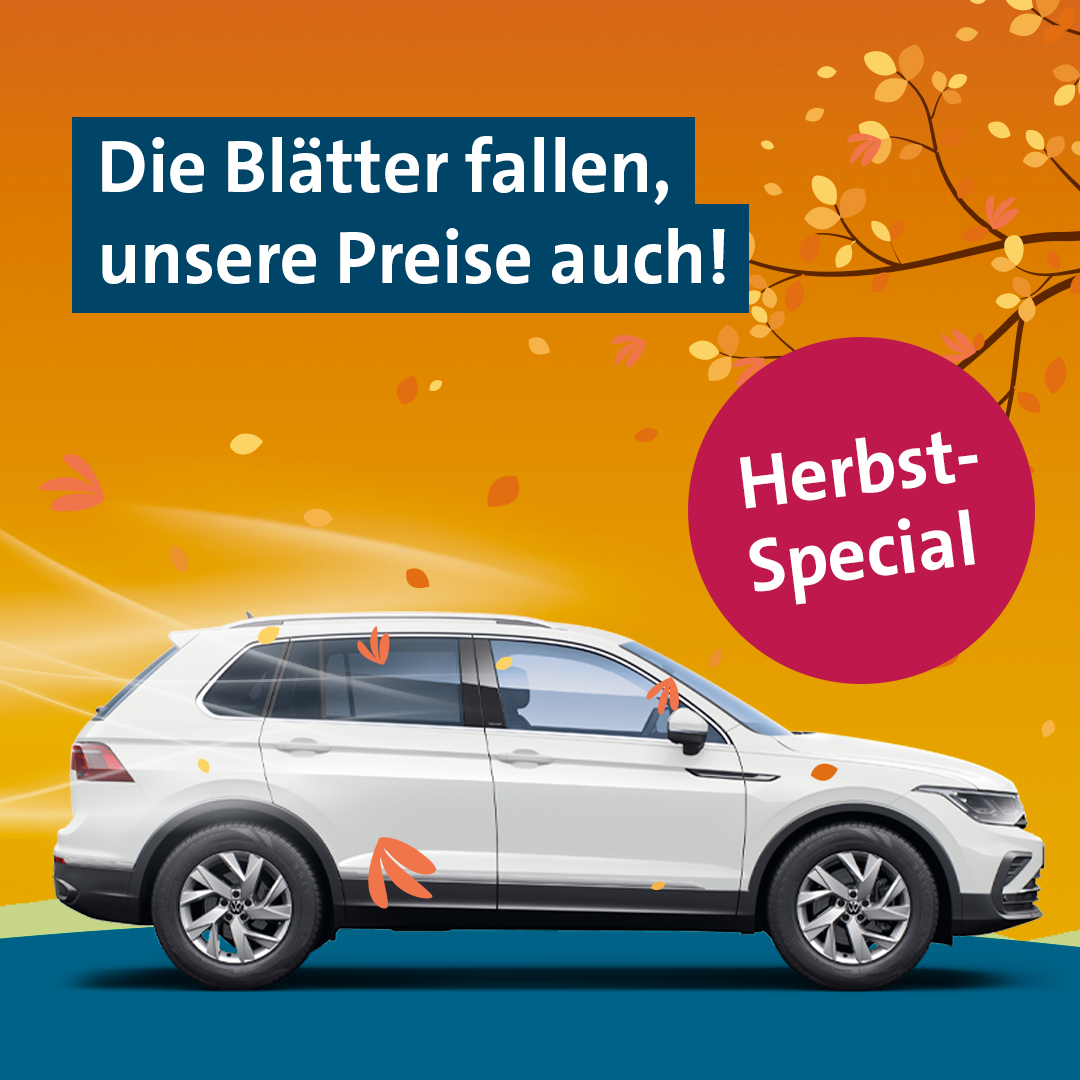 Herbst-Special 2021 VW FS   Rent-a-Car